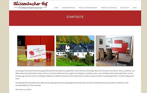 Ferienwohnung Bauernhof Kürten Blissenbach Familie Berger - made by imageCreation