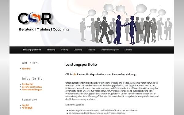 CSR Christa Spengler-Rast - Beratung - Training - Coaching - Bergisch Gladbach - www.csr-consulting.de- made by imageCreation.de
