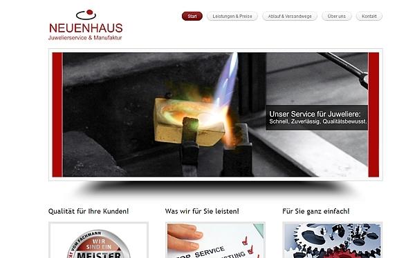 Goldschmiedeservice für Juweliere Neuenhaus Kürten - www.goldschmiede-service.de - made by ImageCreation