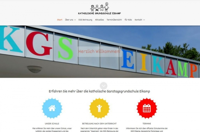 Katholische Grundschschule Eikamp Odenthal - www.kgs-eikamp.de - made by imageCreaion.de