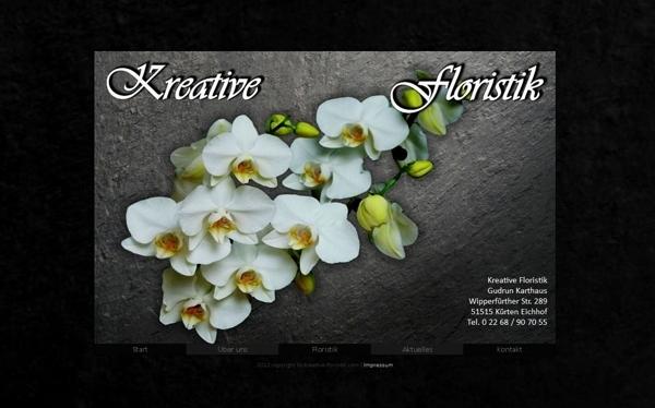 Blumengeschäft Kreative Floristik Kürten - mady by ImageCreation
