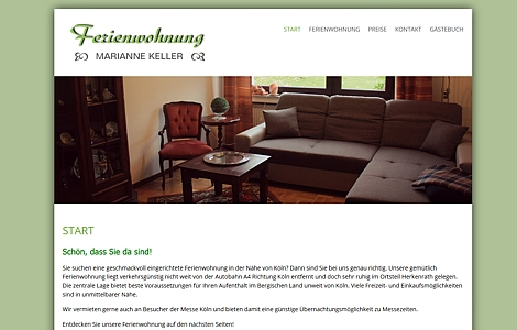 http://www.marianne-keller.de/ Wohnungsvermietung Herkenrath Bergisch Gladbach - made by ImageCreation