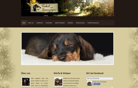Teckelzucht Hundezucht Dackel Zarzuela Eikamp Odenthal - made by ImageCreation