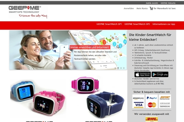 GeepMe Shop Strato made by ImageCreation.de