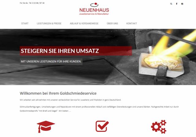 Goldschmiede-Service Neuenhaus für Juweliere