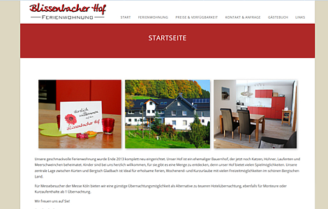 Ferienwohnung Bauernhof Kürten Blissenbach Familie Berger - made by imageCreation