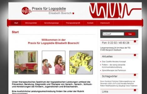 Praxis für Logopädie Boersch und Hembach - made by ImageCreation