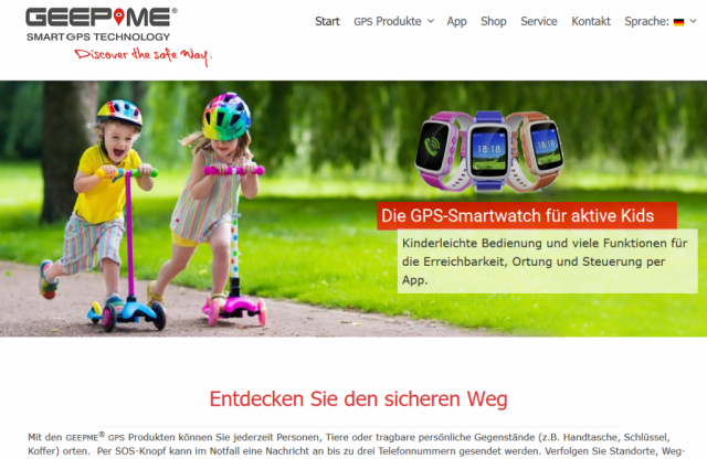 GEEPME Smart GPS Technology - SmartWatches & Tracker - Homburg/Saar - www.geepme.de - made by ImageCreation.de