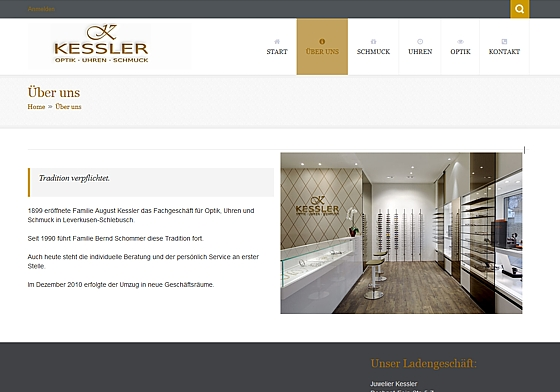 Juwelier Kessler Schlebusch Leverkusen Schommer - made by ImageCreation.