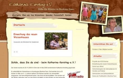 Katharina Kersting e.V. Hilfe für Kinder in Burkina Faso - www.katharina-kersting-ev.de