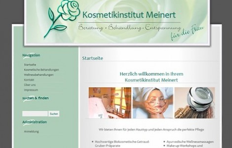 Meinert Kosmetikinstitut Bergisch Gladbach - made by ImageCreation