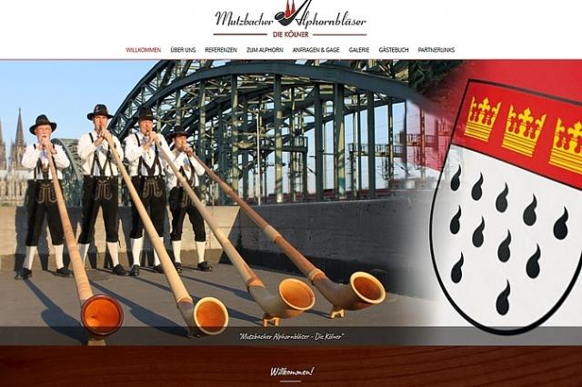Mutzbacher Alphornbläser - Alphorngruppe Köln - mady by ImageCreation