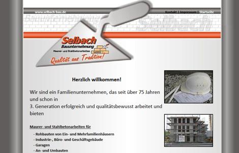 Ralf Selbach Bauunternehmung Kürten - www.selbach-bau.de