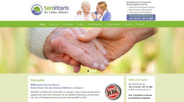 SenVitaris.de made by imageCreation