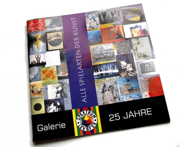 Arbeitsbeispiel Broschüre Galeria Spektrum Leverkusen made by ImageCreation.de