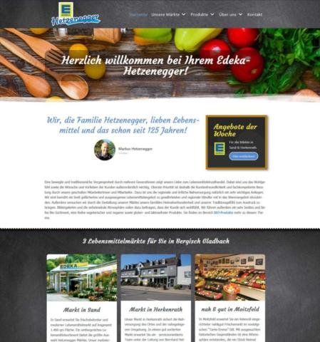 Edeka Hetzenegger Bergisch Gladbach Webseite